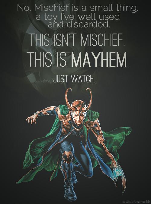 Loki Through Two Blue Eyes