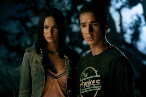 MEGAN FOX and SHIA LABEOUF Transformers the movie