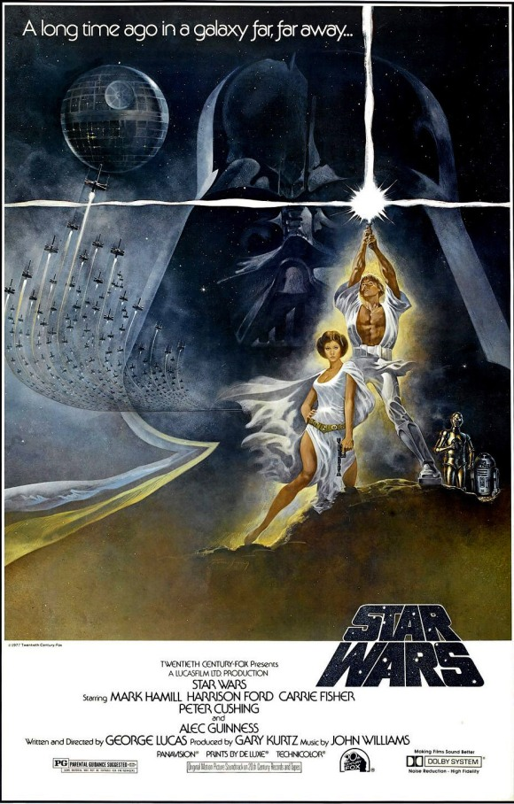 Star Wars - A New Hope (1977) Style A by Tom Jung