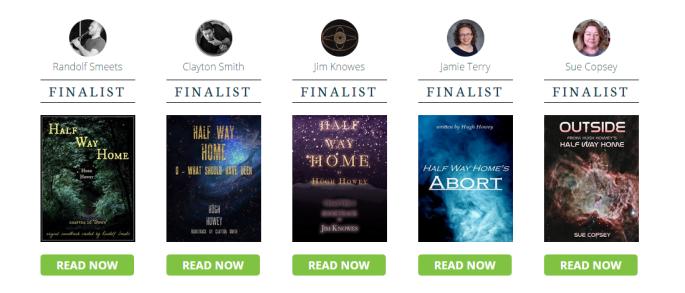 booktrack finalist