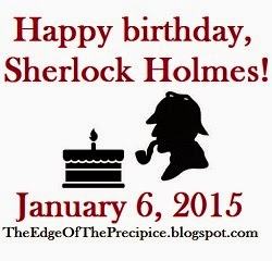 Happy Birthday Sherlock Holmes