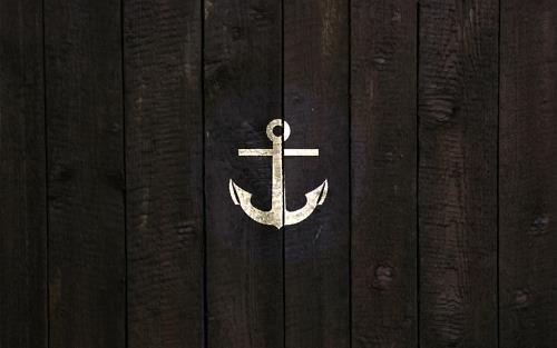 black anchor